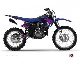 Yamaha TTR 125 Dirt Bike Flow Graphic Kit Pink