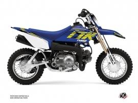 Yamaha TTR 50 Dirt Bike Flow Graphic Kit Yellow