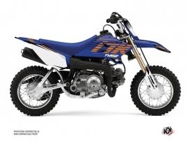 Yamaha TTR 50 Dirt Bike Flow Graphic Kit Orange