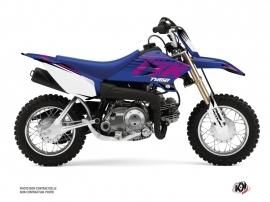 Yamaha TTR 50 Dirt Bike Flow Graphic Kit Pink