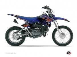 Yamaha TTR 90 Dirt Bike Flow Graphic Kit Orange