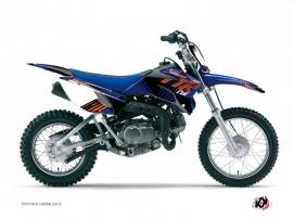 Kit Déco Moto Cross Flow Yamaha TTR 90 Orange