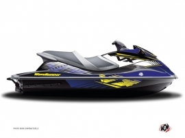 Yamaha VXR-VXS Jet-Ski Flow Graphic Kit Yellow
