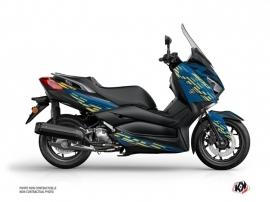 Kit Déco Maxiscooter Flow Yamaha XMAX 300 Bleu