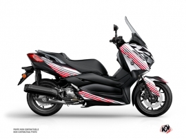 Kit Déco Maxiscooter Flow Yamaha XMAX 300 Rouge