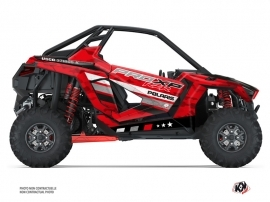 Polaris RZR PRO XP UTV Force Graphic Kit Red