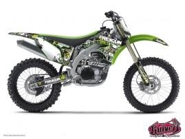 Kawasaki 125 KX Dirt Bike Freegun Graphic Kit