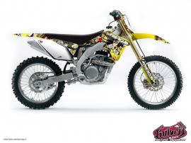 Suzuki 250 RM Dirt Bike Freegun Graphic Kit
