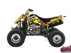 Suzuki 400 LTZ ATV Freegun Graphic Kit