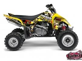 Suzuki 450 LTR ATV Freegun Graphic Kit