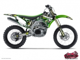 Kawasaki 65 KX Dirt Bike Freegun Graphic Kit