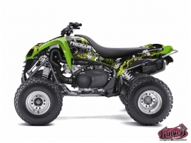 Kawasaki 700 KFX ATV Freegun Graphic Kit