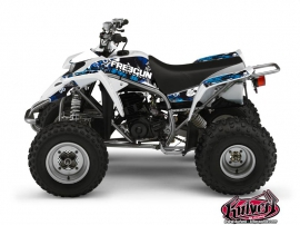 Yamaha Blaster ATV Freegun Graphic Kit Blue