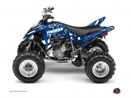 Yamaha 250 Raptor ATV Freegun Eyed Graphic Kit Blue
