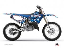 Yamaha 250 YZ Dirt Bike Freegun Eyed Graphic Kit Red