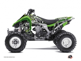 Kawasaki 450 KFX ATV Freegun Eyed Graphic Kit Green