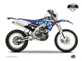 Kit Déco Moto Cross Freegun Eyed Yamaha 450 WRF Rouge LIGHT