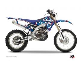 Kit Déco Moto Cross Freegun Eyed Yamaha 450 WRF Rouge