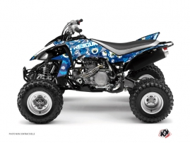 Yamaha 450 YFZ ATV Freegun Eyed Graphic Kit Blue