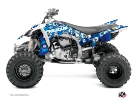 Yamaha 450 YFZ R ATV Freegun Eyed Graphic Kit Blue
