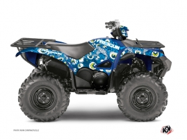 Yamaha 700-708 Grizzly ATV Freegun Eyed Graphic Kit Blue