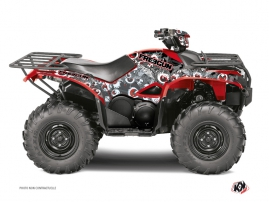 Yamaha 700-708 Kodiak ATV Freegun Eyed Graphic Kit Red