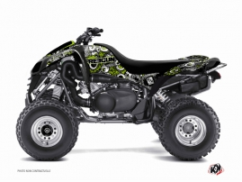 Kawasaki 700 KFX ATV Freegun Eyed Graphic Kit Green