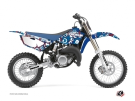 Kit Déco Moto Cross Freegun Eyed Yamaha 85 YZ Rouge