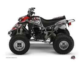 Yamaha Blaster ATV Freegun Eyed Graphic Kit Red