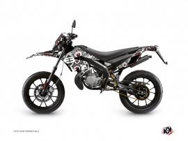 Derbi DRD Xtreme 50cc Freegun Eyed Graphic Kit Grey Red