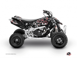 Can Am DS 90 ATV Freegun Eyed Graphic Kit Grey Red