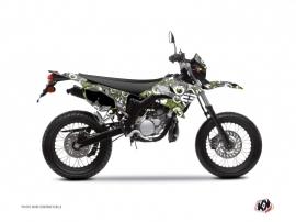 MBK Xlimit 50cc Freegun Eyed Graphic Kit Green
