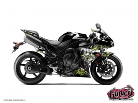 Yamaha R1 Street Bike Freegun Graphic Kit Firehead