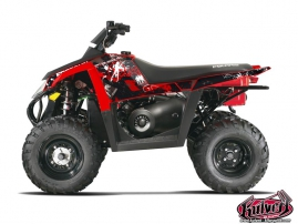 Polaris Scrambler 500 ATV Freegun Graphic Kit