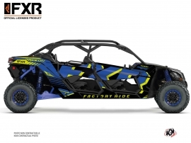 Can Am Maverick X3 MAX UTV FXR N1 Graphic Kit Blue