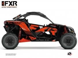 Can Am Maverick X3 UTV FXR N1 Graphic Kit Red