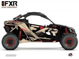 Can Am Maverick X3 UTV FXR N1 Graphic Kit Sand