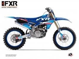Yamaha 250 YZF Dirt Bike FXR N3 Graphic Kit Blue