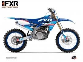 Yamaha 450 YZF Dirt Bike FXR N3 Graphic Kit Blue