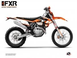 Kit Déco Moto Cross FXR N4 KTM EXC-EXCF Orange