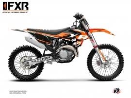 KTM 250 SXF Dirt Bike FXR N4 Graphic Kit Orange