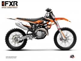 KTM 350 SXF Dirt Bike FXR N4 Graphic Kit Orange