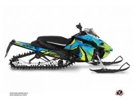 Kit Déco Motoneige Gage Yamaha Sidewinder Bleu Jaune