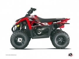 Polaris Scrambler 500 ATV Gamme X Graphic Kit Red