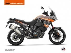 Kit Déco Moto Gear KTM 1190 Adventure Gris Orange