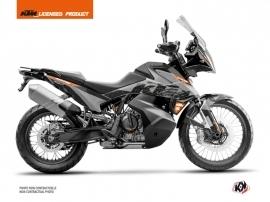 Kit Déco Moto Gear KTM 790 Adventure Gris Orange