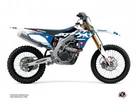 Suzuki 250 RMZ Dirt Bike Grade Graphic Kit White