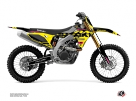 Kit Déco Moto Cross Grade Suzuki 250 RMZ Rose