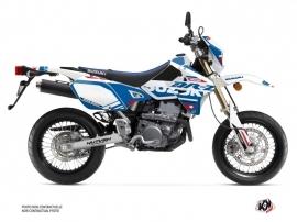 Kit Déco Moto Grade Suzuki DRZ 400 SM Blanc