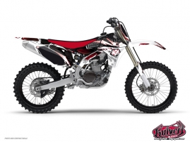 Kit Déco Moto Cross Graff Yamaha 125 YZ Rouge
